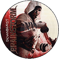 Downburst limited edition picture disc vinyl