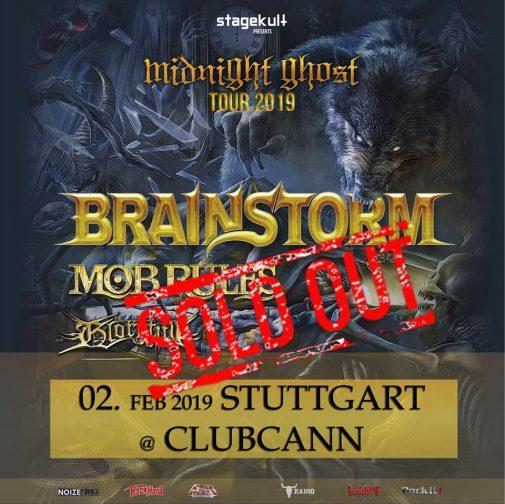 Stuttgart show sold out!