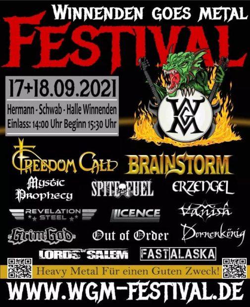 WGM festival poster