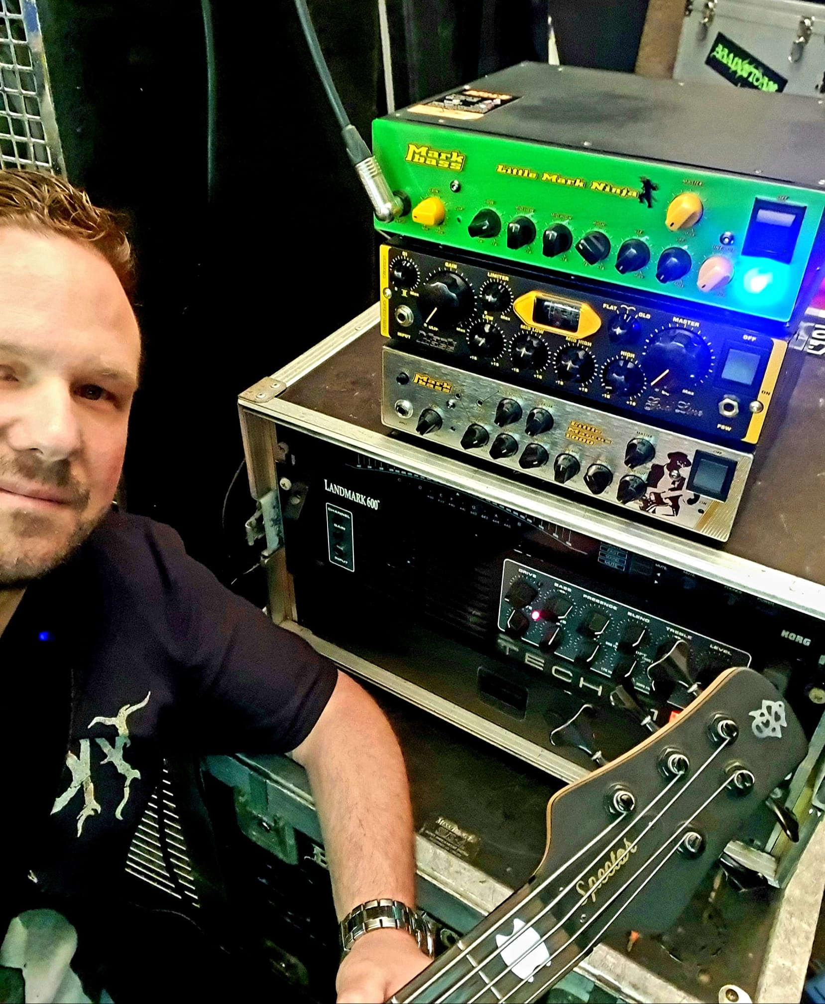 """Featured image for """"MARKBASS Amps for Toni"""""""