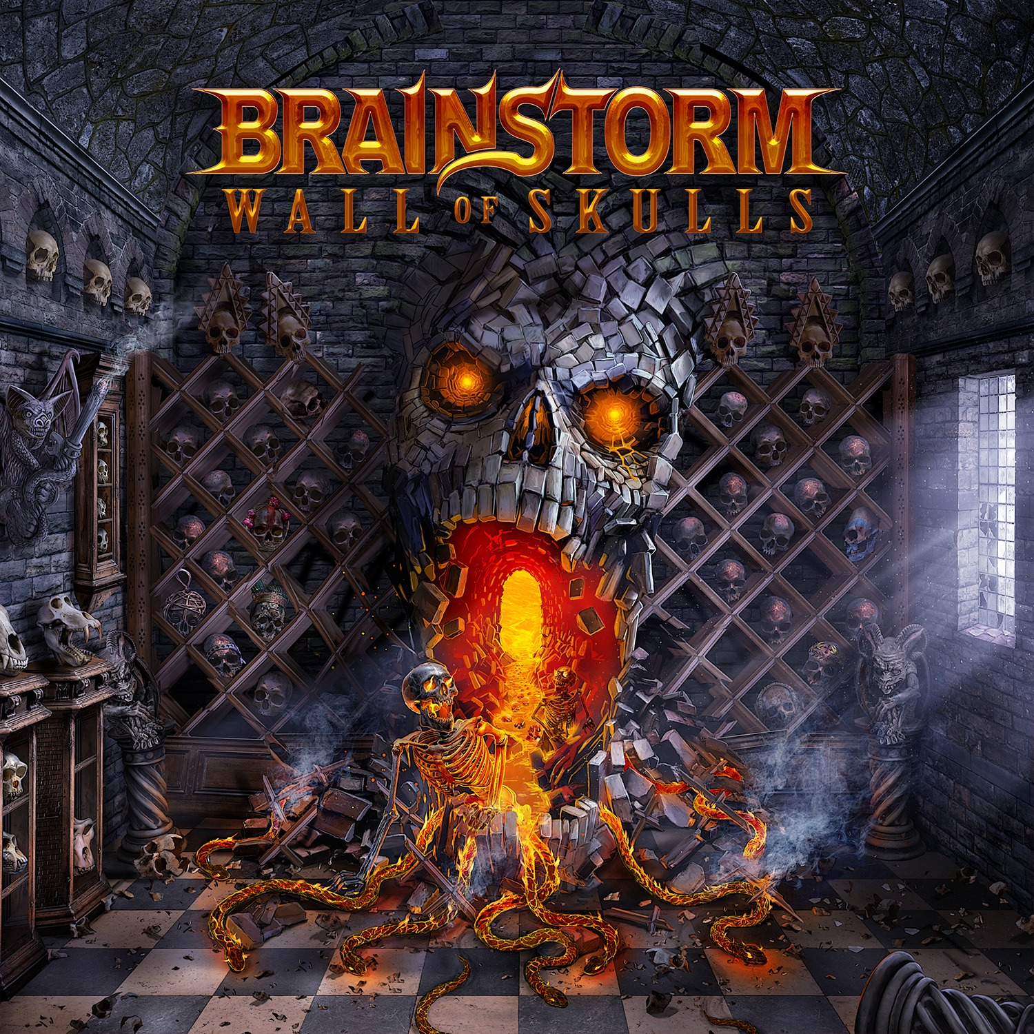 """Featured image for """"""""Walls Of Skulls"""" album cover reveal !"""""""